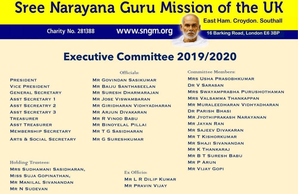 2019-20 EC Structure